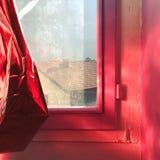 Fenêtre chaude Photos libres de droits