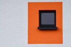 Fenêtre colorée photo stock