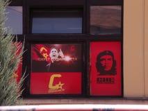 Fenêtre communiste photographie stock