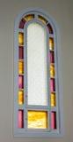 Fenêtre d'église Photographie stock libre de droits