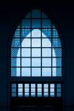 Fenêtre d'église ou fenêtres de mosquées Photographie stock libre de droits