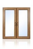 Fenêtre d'isolement Photos stock