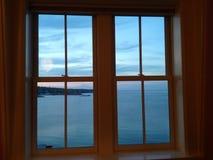 Fenêtre d'océan Photos stock