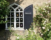 Fenêtre d'oeuf de pâques Photographie stock libre de droits