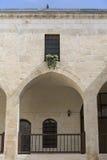 Fenêtre d'une maison traditionnelle de domestik dans Gaziantep, Turquie Photos stock