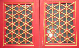 Fenêtre dans l'art chinois images stock