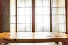 fenêtre dans le style coréen photos stock