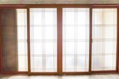 fenêtre dans le style coréen images libres de droits