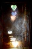 Fenêtre dans un vieux cottage Lemko Images libres de droits
