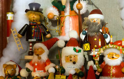 Fenêtre de boutique à Noël Photo stock