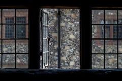Fenêtre de Cantorbéry Photos stock