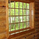 Fenêtre de carreau Photographie stock libre de droits