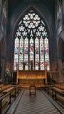Fenêtre de cathédrale Image libre de droits
