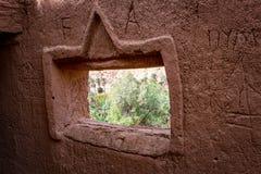 Fenêtre de château images libres de droits