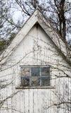 Fenêtre de grange Images libres de droits