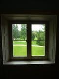 Fenêtre de jardin Photos stock