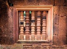 Fenêtre de latérite Photos libres de droits