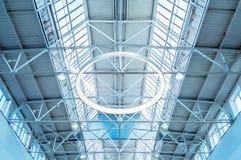 Fenêtre de lucarne - fond architectural Photographie stock libre de droits