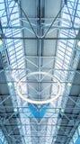 Fenêtre de lucarne - fond architectural image stock