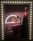 Fenêtre de magasin de Gucci Photos libres de droits