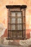 Fenêtre de maison de vintage Images libres de droits
