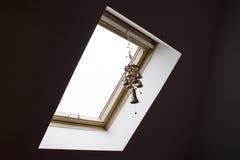 Fenêtre de mansarde Photographie stock