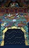 Fenêtre de mausolée de Zuihoden Images stock