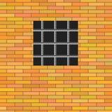 Fenêtre de prison Photo libre de droits
