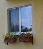 Fenêtre de PVC Photographie stock