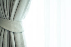 Fenêtre de rideau images libres de droits