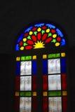 fenêtre de Tache-verre Photos libres de droits