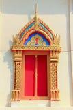 Fenêtre de temple Image stock