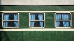 Fenêtre de train image libre de droits