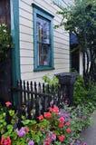 Fenêtre de turquoise Images stock
