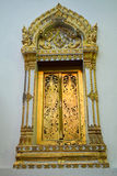 Fenêtre de vieux temple Image libre de droits