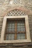 Fenêtre du vieux bâtiment antique Photographie stock