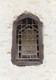 Fenêtre ecclésiastique image stock