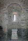 Fenêtre ecclésiastique photo libre de droits