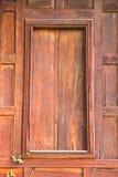 Fenêtre en bois Photos libres de droits