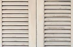 Fenêtre en bois Photo libre de droits