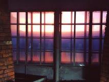 Fenêtre en l'autre monde Photographie stock