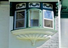 Fenêtre en saillie image libre de droits