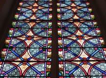 Fenêtre en verre teinté à Georgetown photo stock