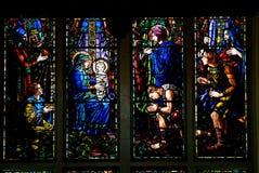 Fenêtre en verre teinté image libre de droits