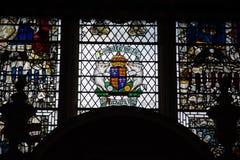 Fenêtre en verre teinté de Richard 111 Image libre de droits