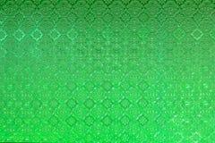 Fenêtre en verre teinté de vintage de vert colorée en verre photo libre de droits
