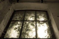 Fenêtre enchantée Photographie stock
