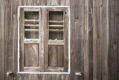 Fenêtre et mur extérieur Photo stock