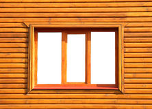 Fenêtre fermée en bois Photos libres de droits