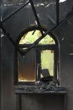 Fenêtre fumée photo libre de droits
